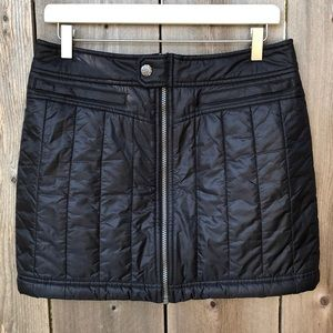 Athleta Toasty Buns Puffer Skirt